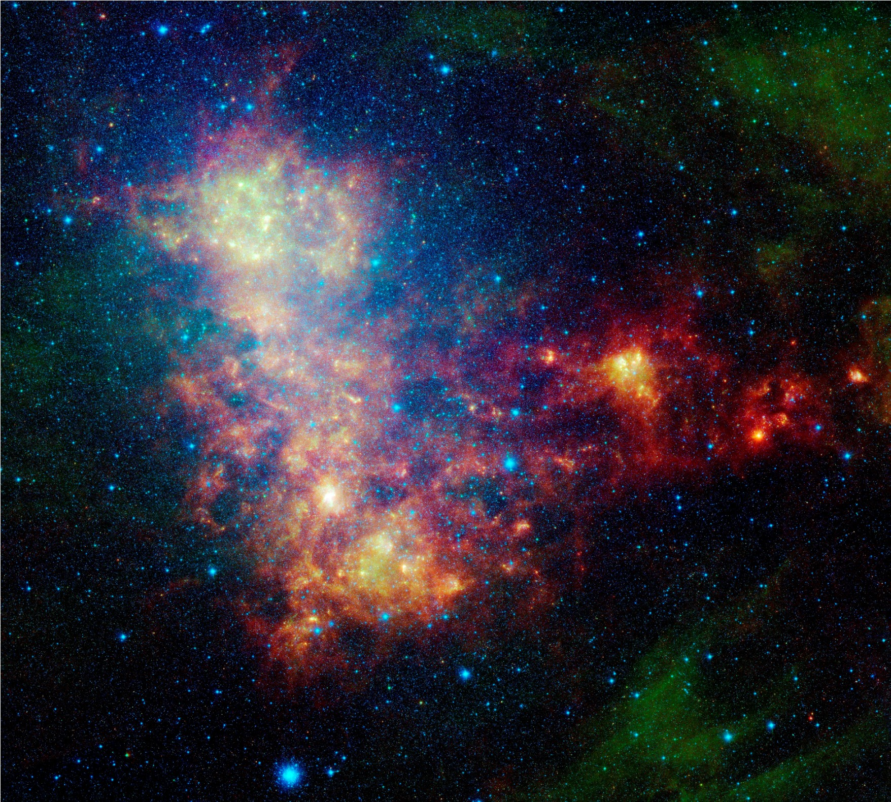 content of a irregular galaxy star - photo #17