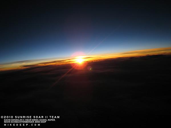 Sun Rise Counter
