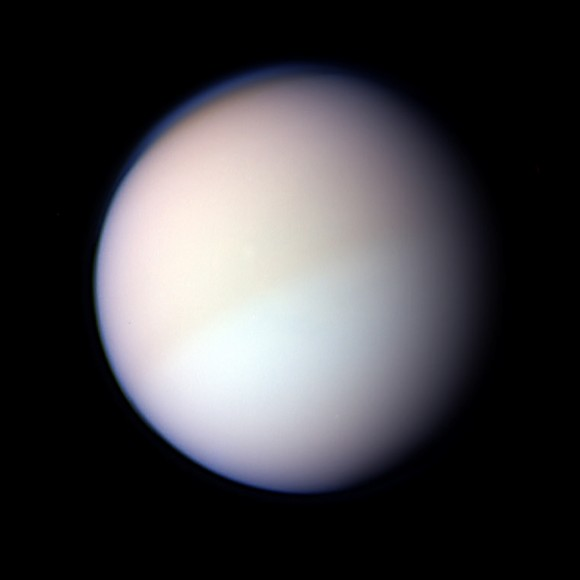 Titan is Saturn's largest moon, and the second largest ...
