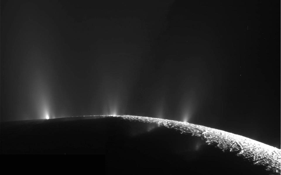 enceladus geysers Life discovered under the Antarctic ice