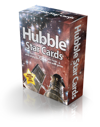 Win a Deck of Hubble Star Cards